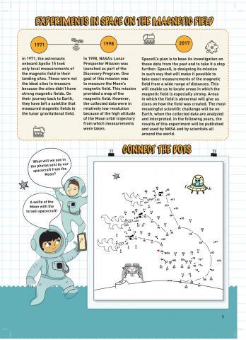 SpaceIL Kids Magazine Issue 2-05