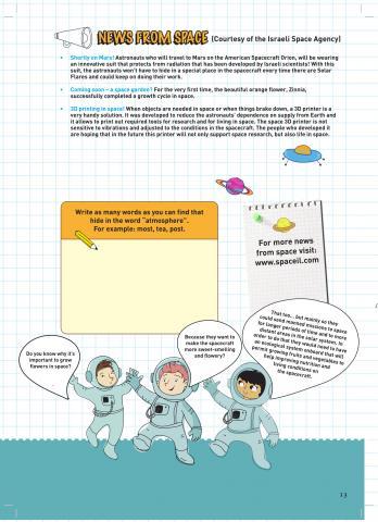 SpaceIL Kids Magazine Issue 2-13